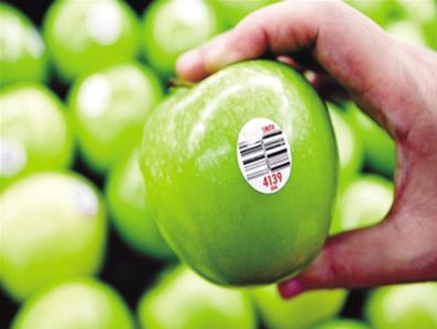 水果上贴的标签有什么用?
