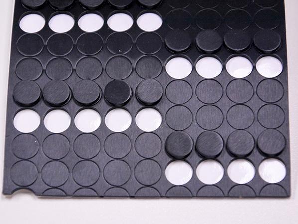国塑印刷黑硅胶