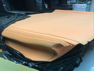 橙色海绵原材料
