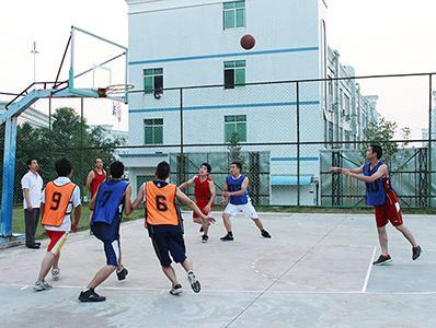 国塑印刷篮球赛