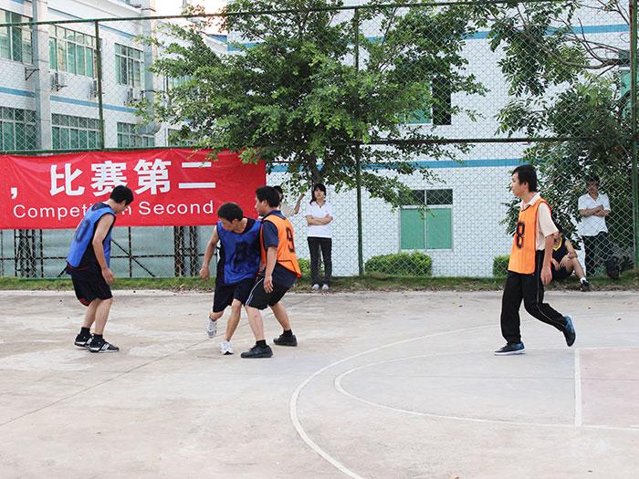 国塑团队友谊篮球赛