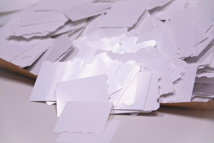 光白PC印刷定制案例